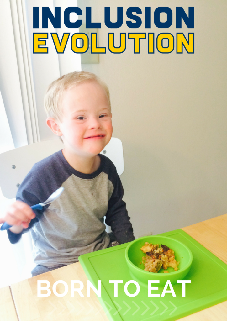Born To Eat Inclusion Starts With Babys First Bite Inclusion